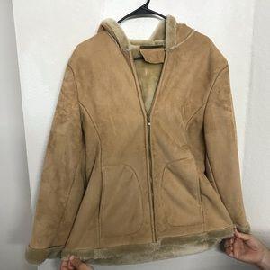Fur Lined Warm Winter Jacket